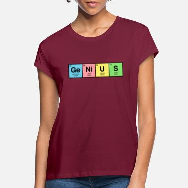 Genius GENIUS - Periodic Table - Women's Loose Fit T-Shirt