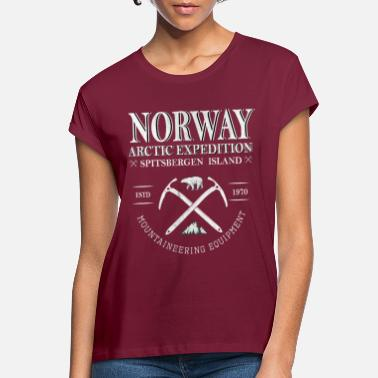 Norge Norge Norge-Norge - Oversize T-shirt dame