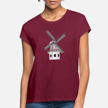 Windmill - Women's Loose Fit T-Shirt