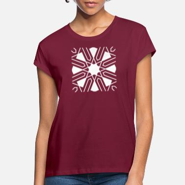 Star pattern - Women's Loose Fit T-Shirt
