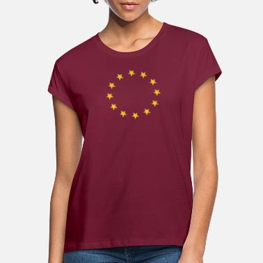 European Union EUROPE TWELVE STARS - Women's Loose Fit T-Shirt