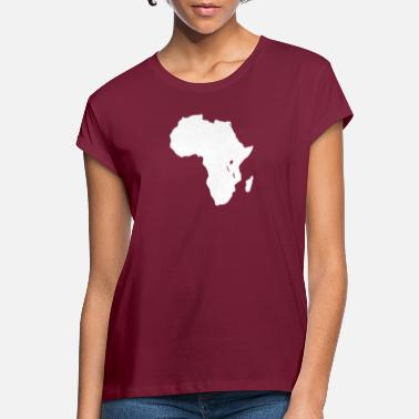 Map Africa map - Women's Loose Fit T-Shirt