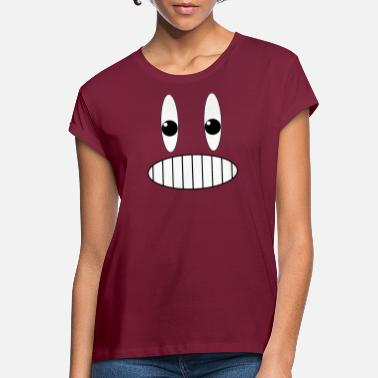 Grinning Grinning face grin - Women's Loose Fit T-Shirt