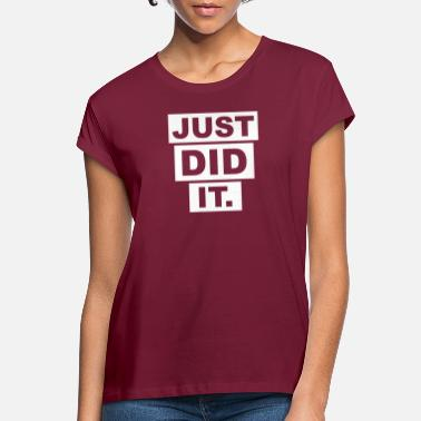 Justement JUSTE JUSTE. - T-shirt oversize Femme