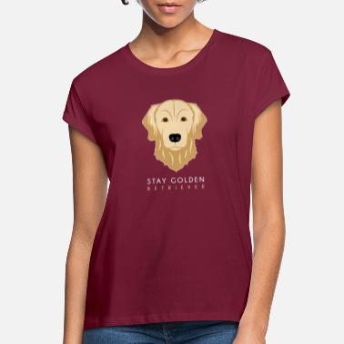 Golden Retriever golden Retriever - Oversize T-skjorte for kvinner