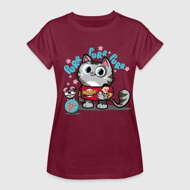 The Big Bang Theory Soft Kitty - T-shirt oversize Femme