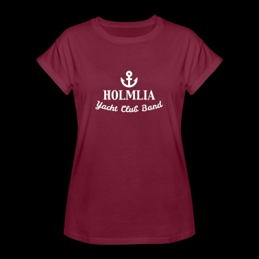 Holmlia Yacht Club Band Logo - Women's Oversize T-Shirt