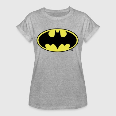 Batman Logo Gelb Kinder T-Shirt - Frauen Oversize T-Shirt