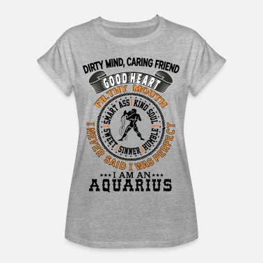 Age Of Aquarius I AM AN AQUARIUS - Women's Oversize T-Shirt
