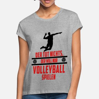 Volleyball volleyball - Oversize T-shirt dame