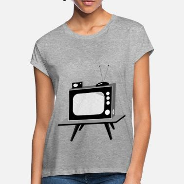 Tv TV - Vrouwen oversized T-Shirt