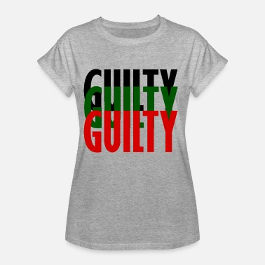 Coupable coupable - T-shirt oversize Femme