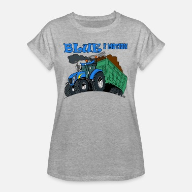 Motion Blue in motion - Women's Oversize T-Shirt