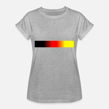 Nationalfarben Deutsche Nationalfarben - Frauen Oversize T-Shirt