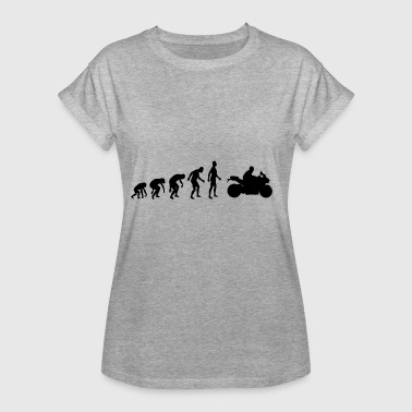Machine De Course Machine de course Evolution Motorcyclist - T-shirt oversize Femme