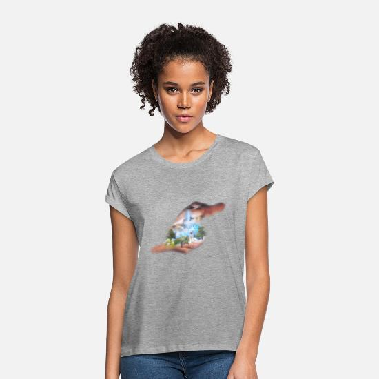 Evolution T-Shirts - evolution - Women's Loose Fit T-Shirt heather grey