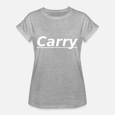 Carry Carry - Oversize T-skjorte for kvinner