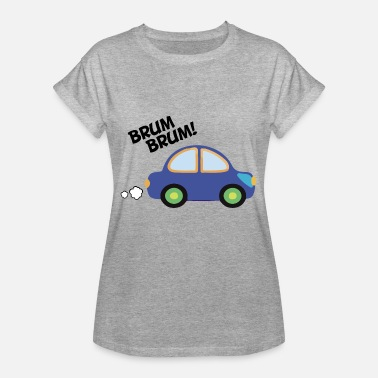 Brum Brum Car for children - Brum Brum - Women's Oversize T-Shirt