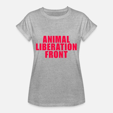 Animal Liberation Front animal liberation front - Frauen Oversize T-Shirt
