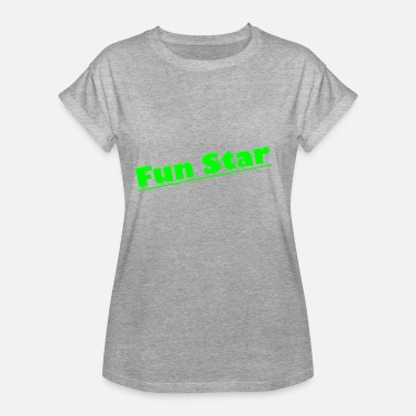 Fun Stars Fun Star Design - Women's Oversize T-Shirt
