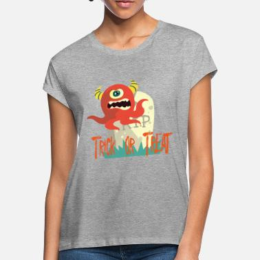 Trick Or Treat Trick or Treat Monster - Frauen Oversize T-Shirt