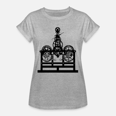 Southern Germany tower clock - Women's Oversize T-Shirt