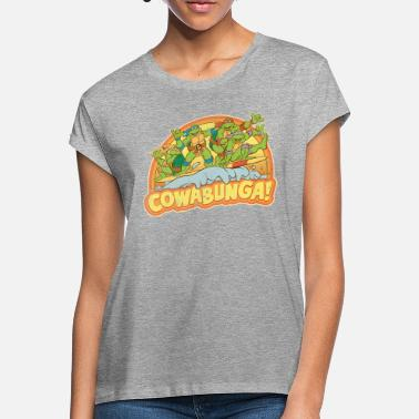 Kevin Eastman TMNT  Surfing Turtles - Women's Loose Fit T-Shirt