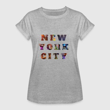 Highrise Building New York City - Women's Oversize T-Shirt