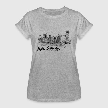 New York City - Naisten oversized-t-paita