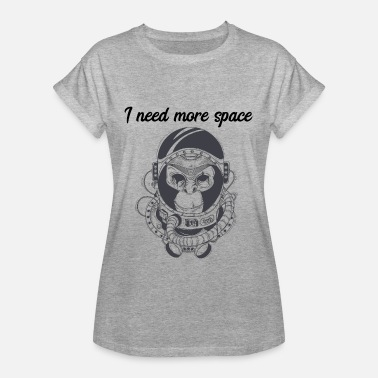 Need My Space i need more space - T-shirt oversize Femme
