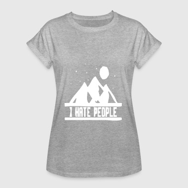 Hill Billy Nature hill mountain mountains hiking funny fun - Women's Oversize T-Shirt