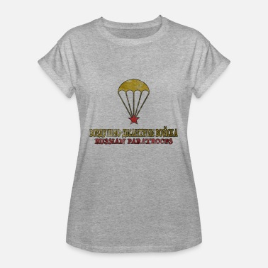 Spetsnaz Russian paratroops airborne special forces - Women's Oversize T-Shirt