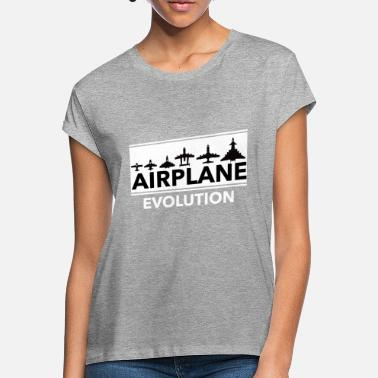 airplane evolution - Women's Loose Fit T-Shirt