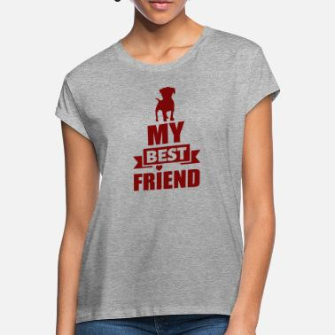 Dog Lover Dog Friends Animal Love Dog Lovers Gift - Women's Loose Fit T-Shirt