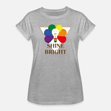 Shine Bright Shine Bright - Women's Oversize T-Shirt