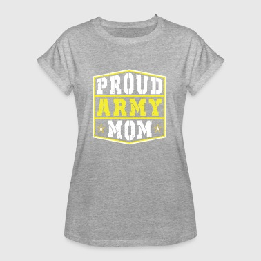 Proud Army Mom - Women's Oversize T-Shirt