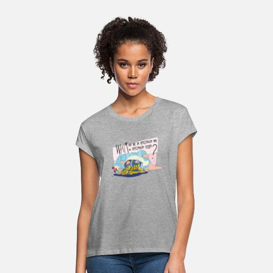 Animal T-Shirts - Ricky and Morty Which Venzenulon Are We On? - Women's Loose Fit T-Shirt heather grey