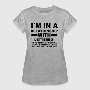 Letterboxing relationship with LETTERBOXING - Frauen Oversize T-Shirt