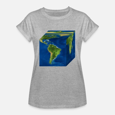Schland earth - Women's Oversize T-Shirt