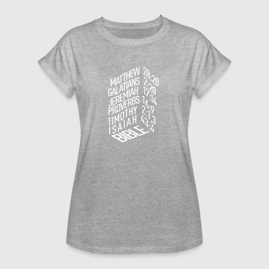 Bible Verse - Frauen Oversize T-Shirt