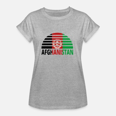 Sunburst Sunset Sunburst Home home roots AFGHANISTAN png - Women's Oversize T-Shirt
