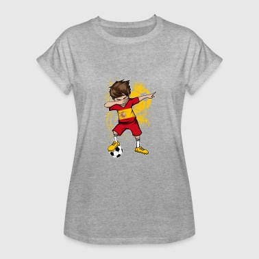 Spain national team Dab World Cup football - Women's Oversize T-Shirt