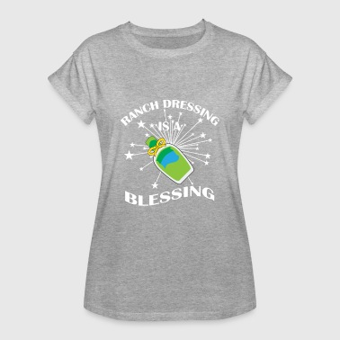 Vegan Vegetarisch Ranch dressing blessing Shirt - Frauen Oversize T-Shirt