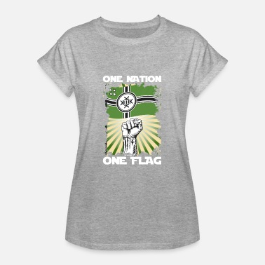 Pepe The Frog One Nation One Flag Kekistan - Women's Oversize T-Shirt