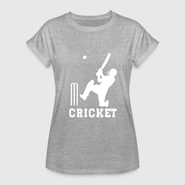 Cricket Heartbeat CRICKET - Women's Oversize T-Shirt