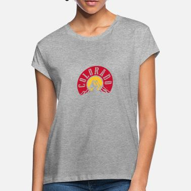 Colorado Springs Colorado - Oversize T-shirt dam