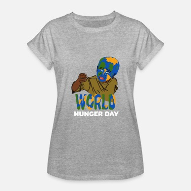 Näringskedja World Hunger och World Food Day presentidé - Oversize-T-shirt dam