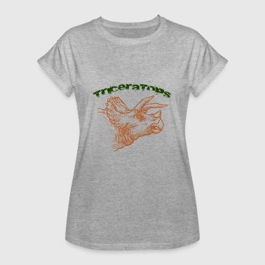 Triceratops Triceratops - Dame oversize T-shirt