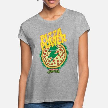 TMNT Turtles Pizza Power Shield - Women's Loose Fit T-Shirt