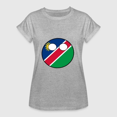 Countryball Land Heimat Namibia - Frauen Oversize T-Shirt
